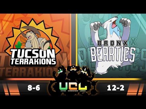 Pokémon ORAS LIVE Wi-Fi Battle [UCL S2W15] Tucson Terrakions vs Bronx Beartics