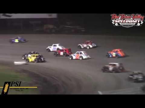 Red River Valley Speedway INEX Legends A-Main (8/17/18)