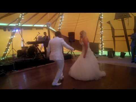 Simba and Kayleigh's Wedding Dance to Mukoko by Amara Brown and Tytan