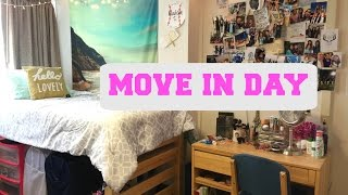 MOVE IN DAY + First Week of My Freshman Year in College!