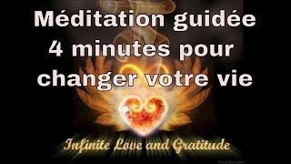 Méditation journalière matinale Gratitude à la vie