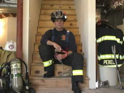 "Firefighter Rescue: Using a Personal Escape System - The ""BYRNE Technique"""