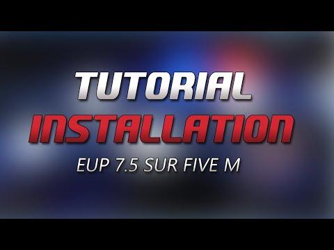 FiveM - Tutorial - Emergency Uniform Pack 7 5 ! (EUP Installation)