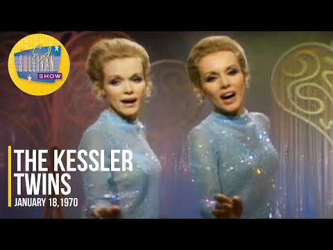 """The Kessler Twins """"This Girl's In Love With You"""" on The Ed Sullivan Show"""