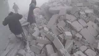 Сирия: российские ВКС сбрасывают бомбы на Восточную Гуту днем и ночью