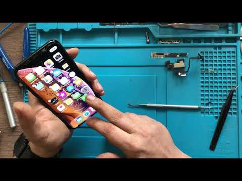 Замена стекла IPhone Xs, IPhone X, Айфон 10s, Айфон Хs Снимаем рамку без растворителей