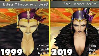 Final Fantasy VIII Remastered Graphics Comparison (Original FF8 vs 2019 Remaster)