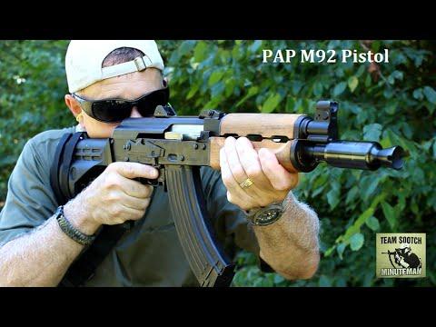 CAI Zastava PAP M92 AK Pistol Review