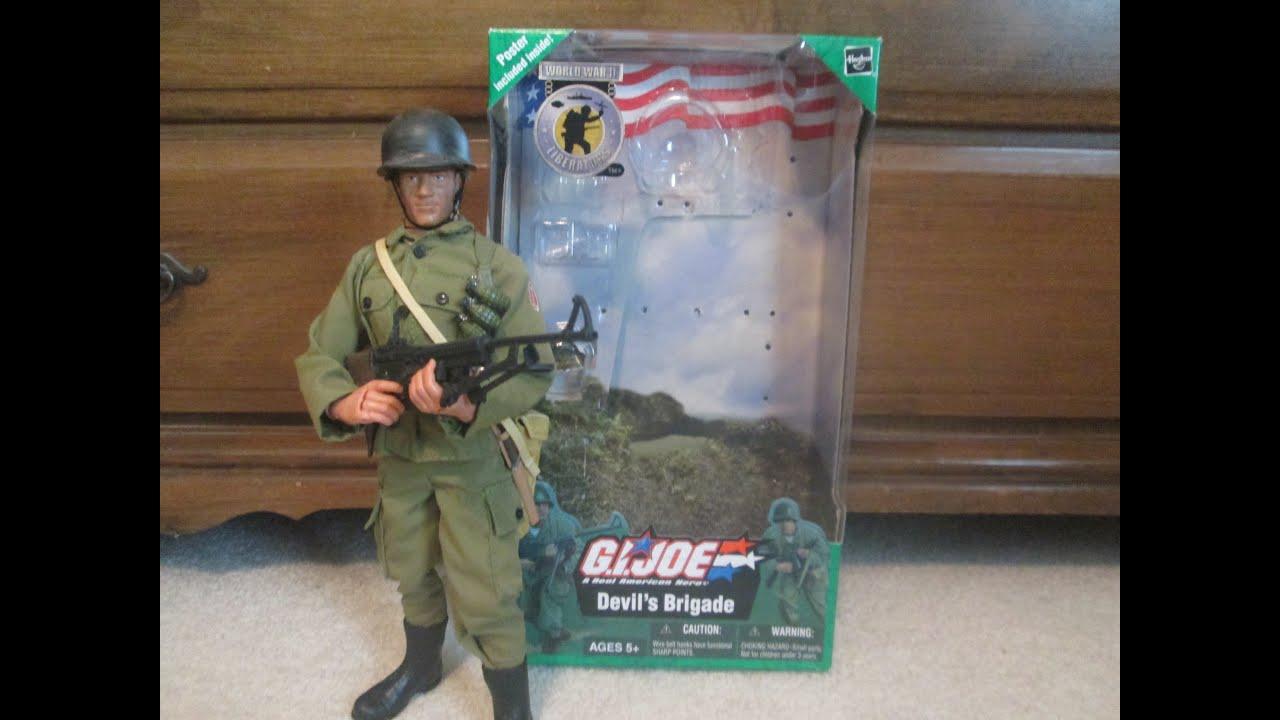 G I Joe World War II Liberators Devils Brigade 12 Inch Figure Hasbro