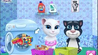 Кот Том и кошка Анжела маленькие//Tom cat and Angela cat small