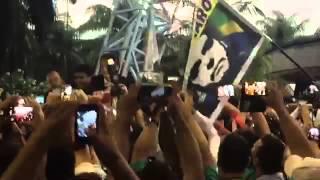BOLSONARO CHEGA NO AEROP. RECIFE 05/NOV/2015
