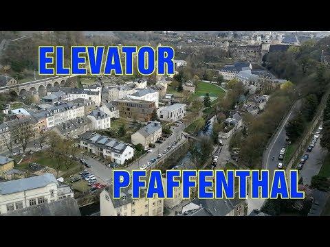 Panorama-Aufzug Pfaffenthal in einer Minute