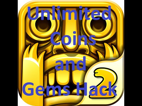 Temple Run 2 Hack- Unlimited Gems & Coins [NO ROOT]