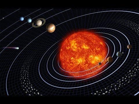 la terre tourne autour du soleil en