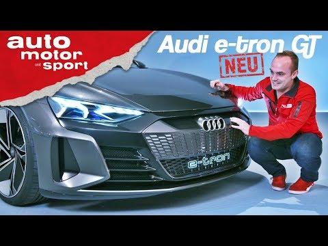 Audi e tron GT Erste Sitzprobe im neuen E Quattro Neuvorstellung Review auto motor und sport