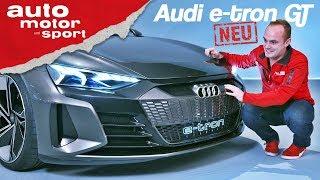 Audi e-tron GT: Erste Sitzprobe im neuen E-Quattro - Neuvorstellung (Review) | auto motor und sport