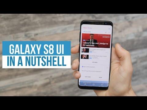 Samsung Experience (Galaxy S8 UI) in a nutshell
