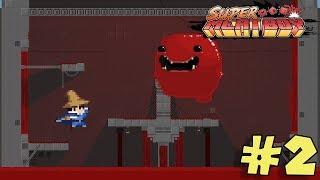 Hospital de la Muerte !! - Jugando Super Meat Boy con Pepe el Mago (#2)