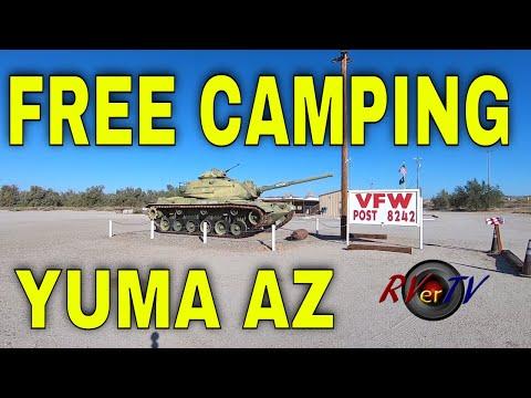 Yuma Arizona FREE CAMPING Yuma BLM Field Office - Maps + Apps