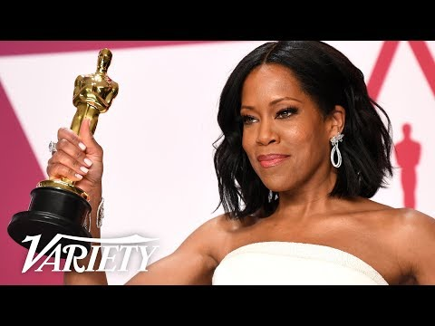 Regina King - Oscars - Best Supporting Actress 'If Beale Street Could Talk'  - Full Backstage Speech