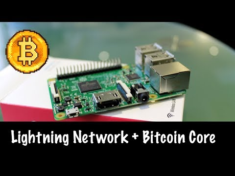 Lightning Network + Bitcoin Core на Raspberry PI | Lightning Нода