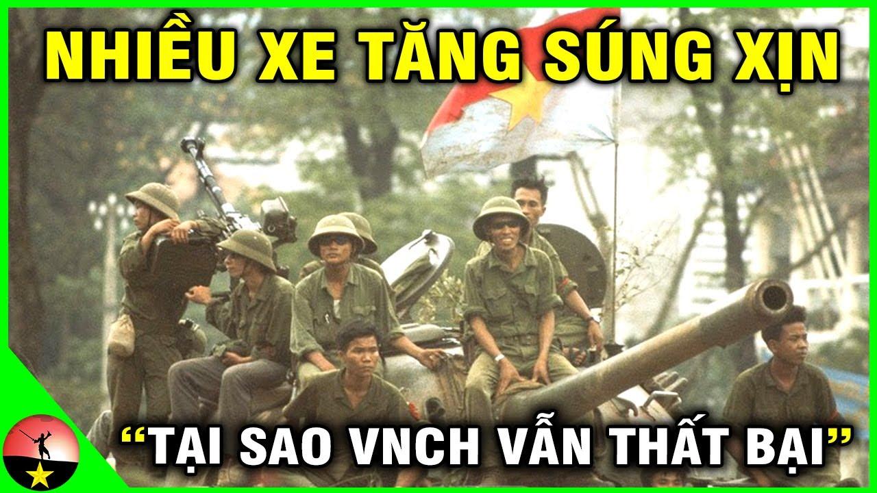 Tại Sao 1,3 Triệu Quân Việt Nam Cộng Hòa Có Mỹ Hậu Thuẫn Lại Thất Bại Cay Đắng Năm 1975