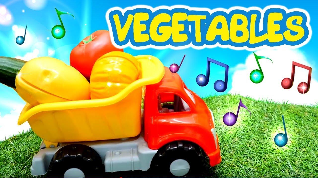 Песенки для малышей - учим овощи на английском языке для ...