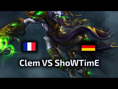 Clem VS ShoWTimE - FINAL - TvP - WardiTV 2020 European League - polski komentarz