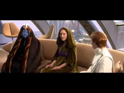 Star Wars Shaak Ti's Death