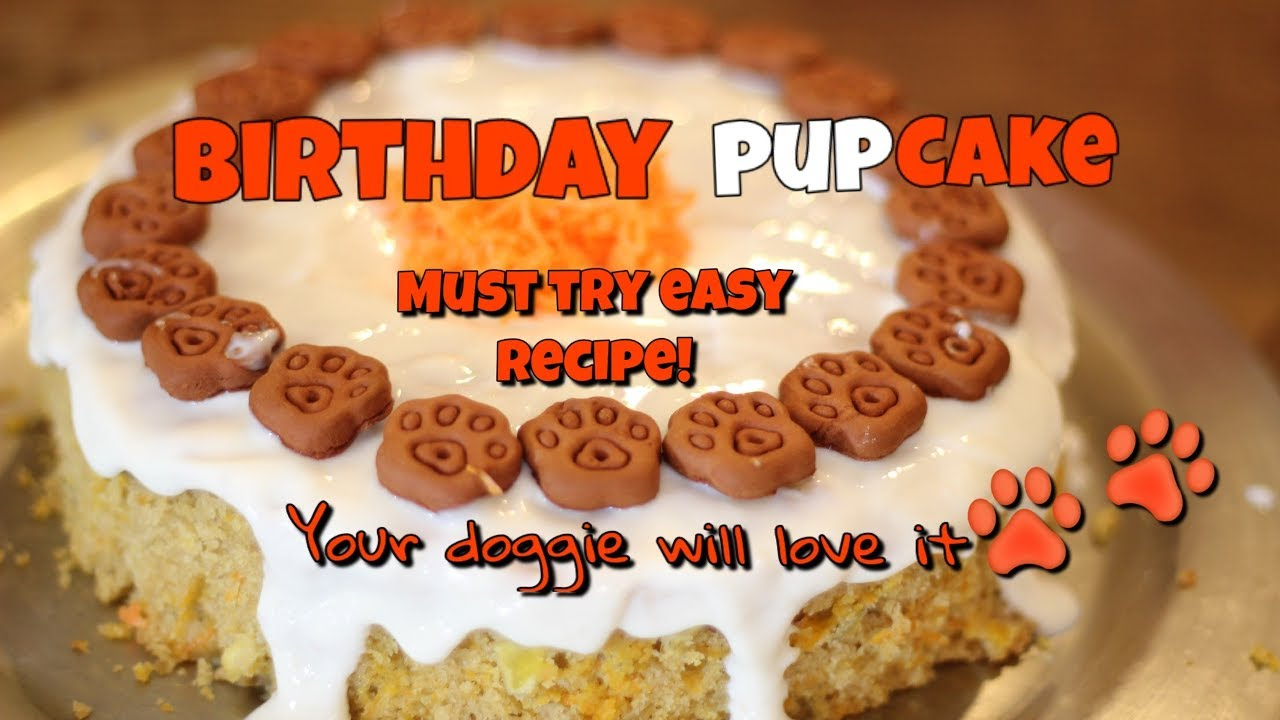 Dog Birthday Cake Recipe Easy