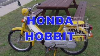 MOPED HAULING ASS!!!! (1978 Honda Hobbit Pa50-2)