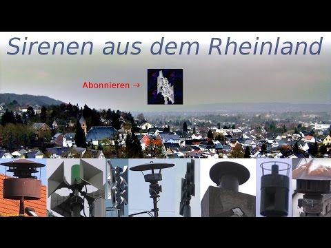 Sirenen Aus Dem Rheinland - Kanaltrailer Von Rheinlandsirene