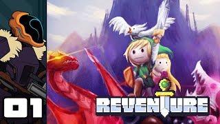 Let's Play Reventure - PC Gameplay Part 1 - Misadventure, Die, Repeat screenshot 1