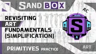 (Человек Упрощение) Сессия 61 - Creative Sandbox [RUS/eng] (Пересмотр основ рисования)