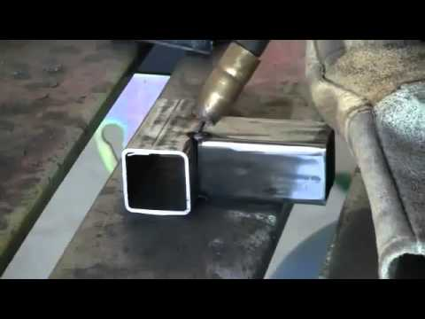 Mig Welding Course And How To Mig Weld Square Tubing Youtube