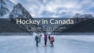 Game On! Pond Hockey on Lake Louise