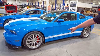 Shelby CONVINCES me to wide body my 1000HP GT500 Super Snake!