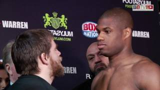 Daniel Dubois Vs Marcus Kelly Weigh In #BBTV