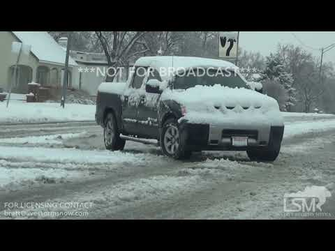 1-3-19 Lawton, OK -  Stranded  Motorists, Treacherous Travel Conditions On I44, Snow Removal