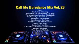 Call Me Eurodance Mix Vol. 23