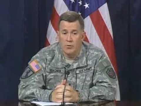 Iraq Briefing: Maj. Gen. Bergner