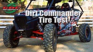GBC Dirt Commander UTV, ATV Tire Test
