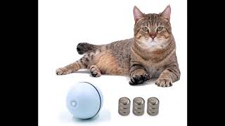 Interactive Cat Toy 360 Degree Self Rotating Ball Automatic Light Toy