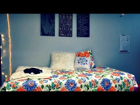 Hofstra University Dorm Room Tour ♡ // Makeupwithaimiz