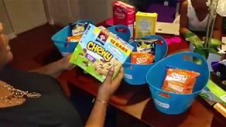 EASY SNACK ORGANIZATION FOR KIDS