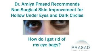 Non-Surgical Treatments Best Improve the Under Eye Hollows and Dark Circles
