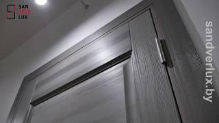 Обзор межкомнатной двери из сосны М17 брашированные , Поставский мебельный центр - Sandverlux.by