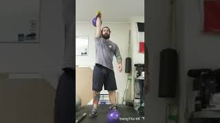 Kettlebell Sport Workouts : Gloved Cleans and Breathe Stability Ladder