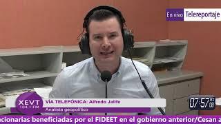 """Jalife y el Litio-Golpe en Bolivia:De Evo al Medio-Evo"""" Telereportaje, Villahermosa;Tabasco 14.11.19"""