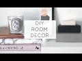 DIY ROOM DECOR | PINTEREST + TUMBLR | MINIMAL + AFFORDABLE